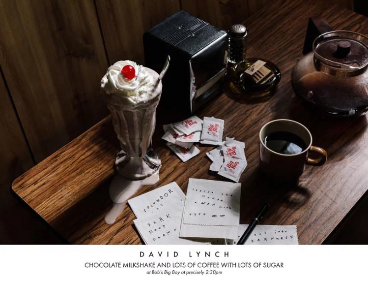 Режиссёр Дэвид Линч. Шоколадный молочный коктейль и много кофе с большим количеством сахара