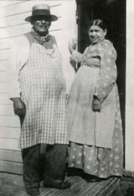 Джордж Крам и его сестра Кэтрин Уикс