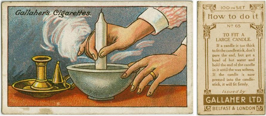 Как аккуратно уменьшить диаметр большой свечи