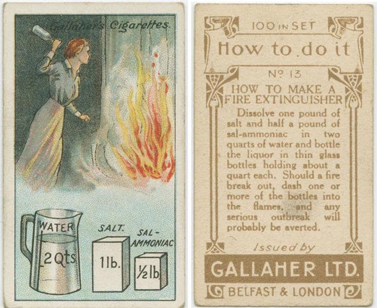 Как сделать домашний огнетушитель