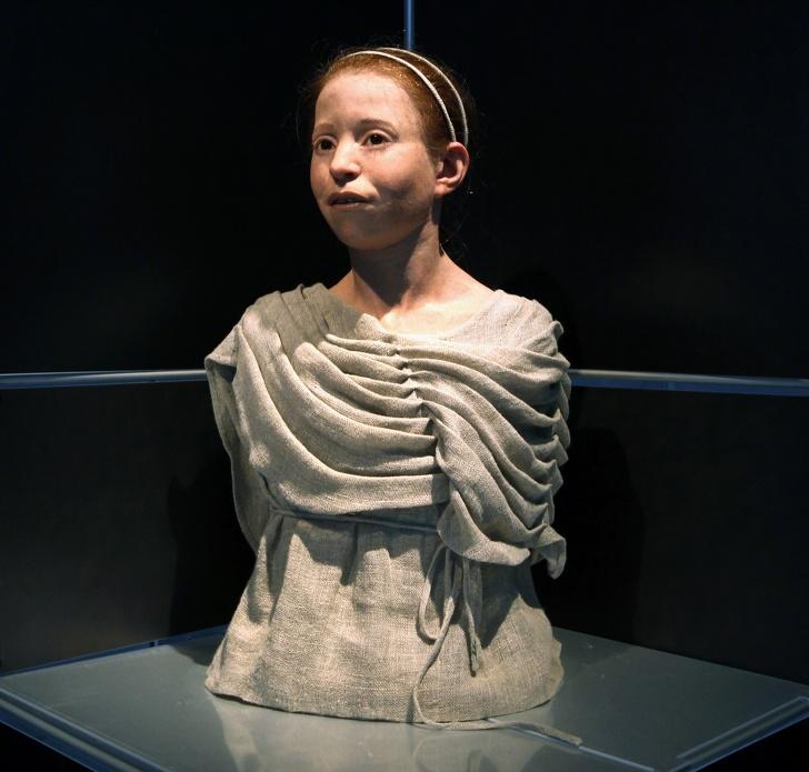 Девочка из Древней Греции