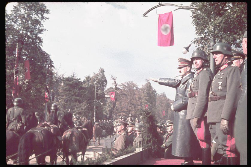 Адольф Гитлер в Варшаве, 1939 год