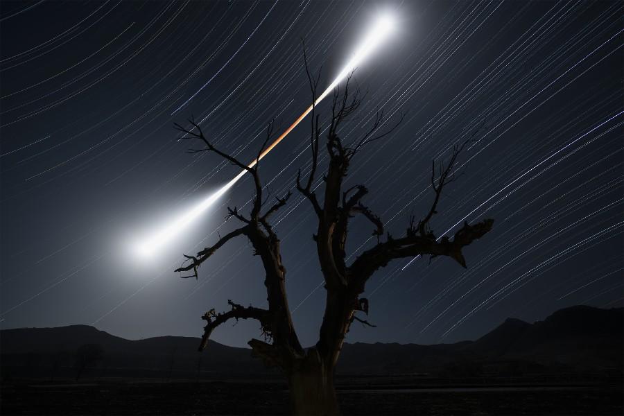 2-е место в категории «Звёздное небо». Фотограф Chuanjin Su
