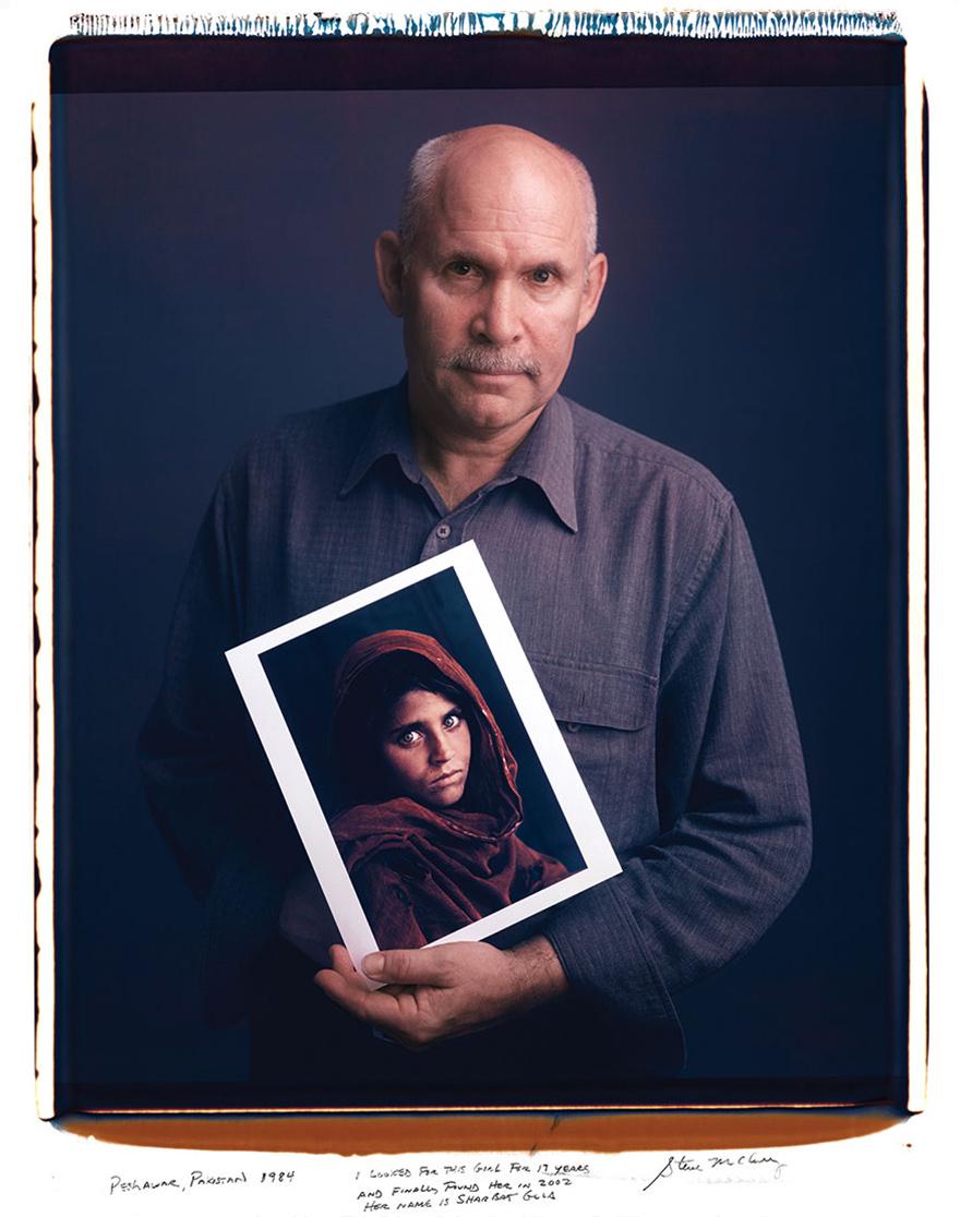 Стив Маккарри, «Афганская девочка», 1984 год