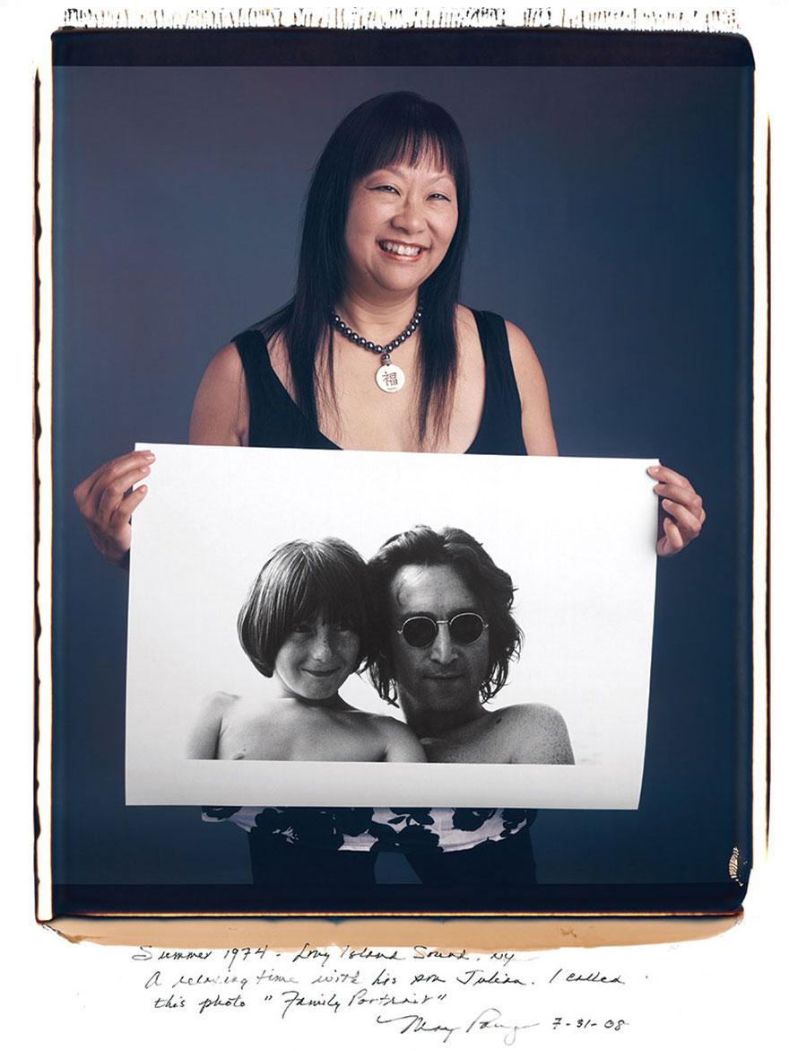Мэй Пэнг (May Pang) - Джон Леннон «Семейный портрет», 1974 год