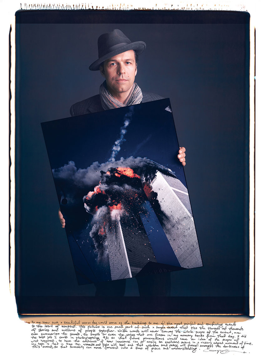 Лайл Оуэрко (Lyle Owerko) – «9/11», 2001 год