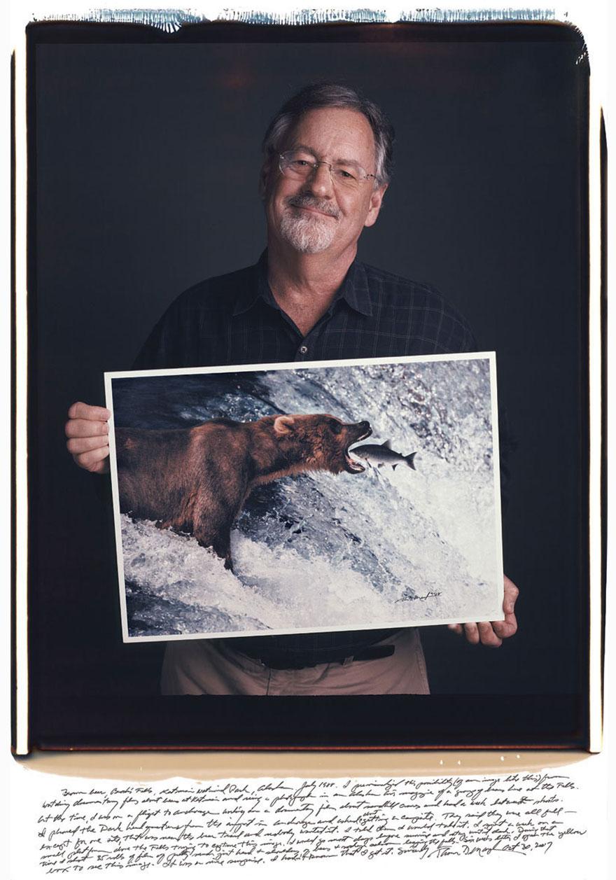 Томас Д. Мэнгельсен (Thomas Mangelsen) - «Бурый медведь», 1988 год