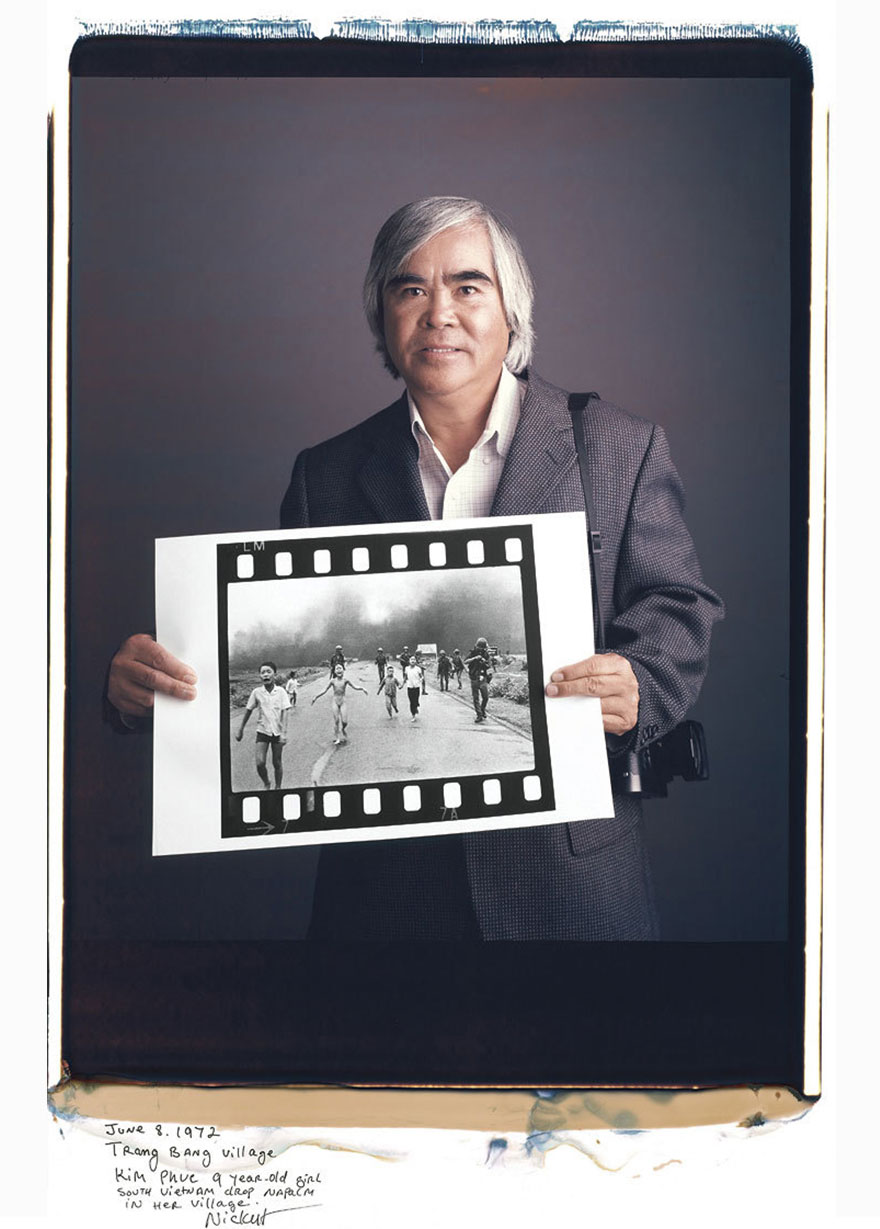 Ник Ут (Nick Ut) - «Напалмовая атака во Вьетнаме», 1972 год