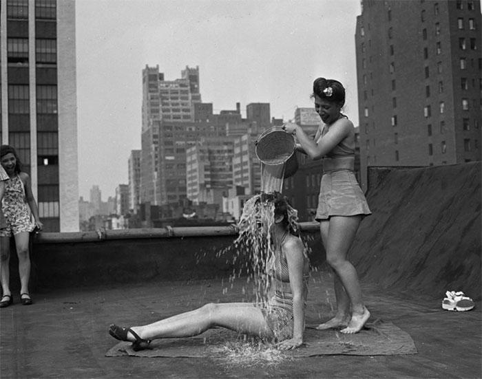 Жаркий день в Нью-Йорке, 1943 год