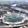 Бассейн «Москва» - самый большой плавательный бассейн в СССР