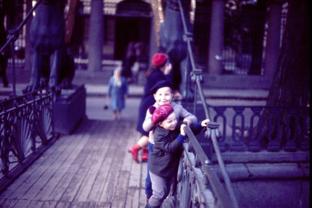 Банковский мост, весна 1977