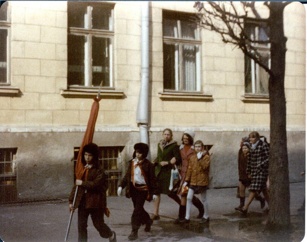 Гродненский переулок, 1 сентября 1976