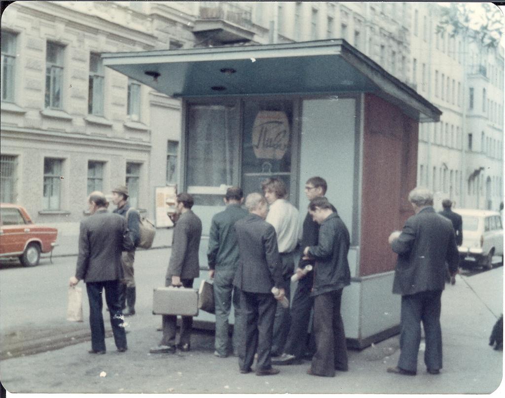 Улица Восстания, 1977 год