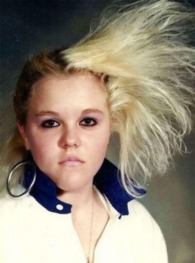 Шикарные причёски прямиком из 80-х, смотря на которые вы почувствуете запах лака