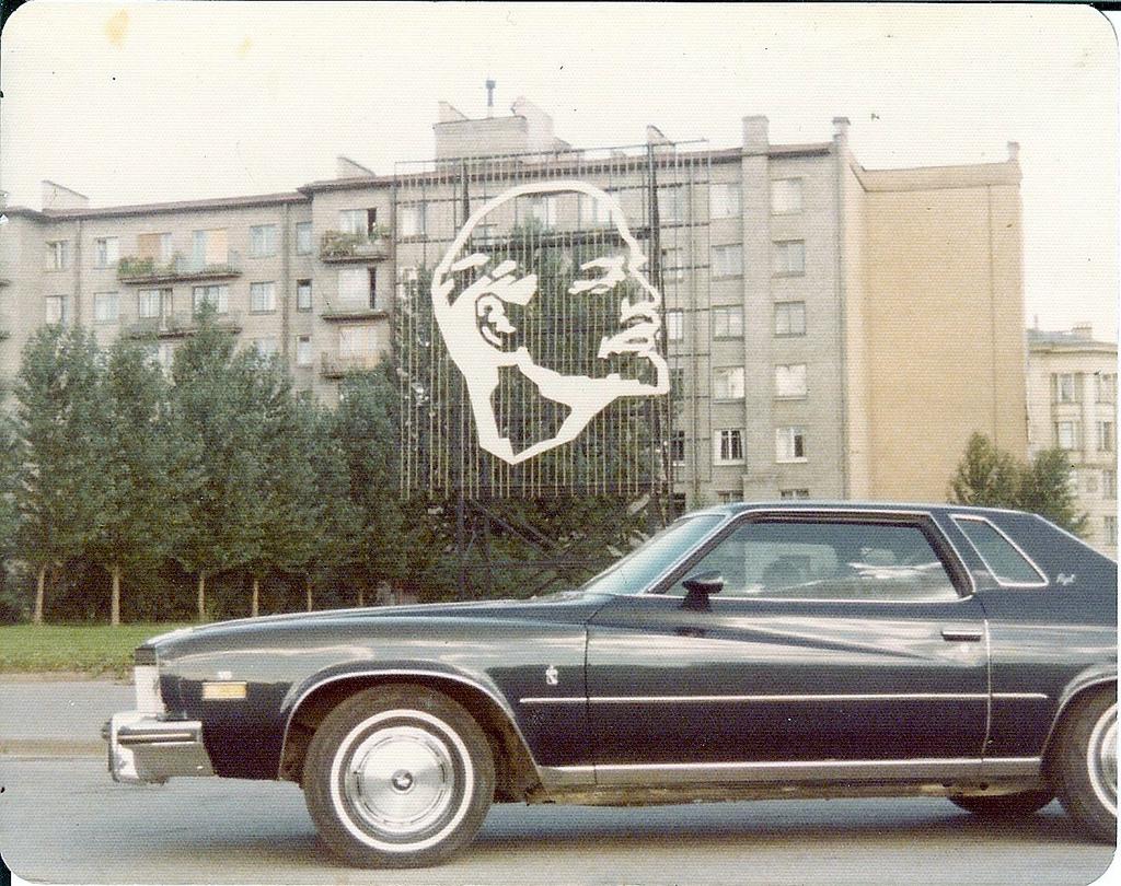 Бьюик Регал в Ленинграде, 1975 год