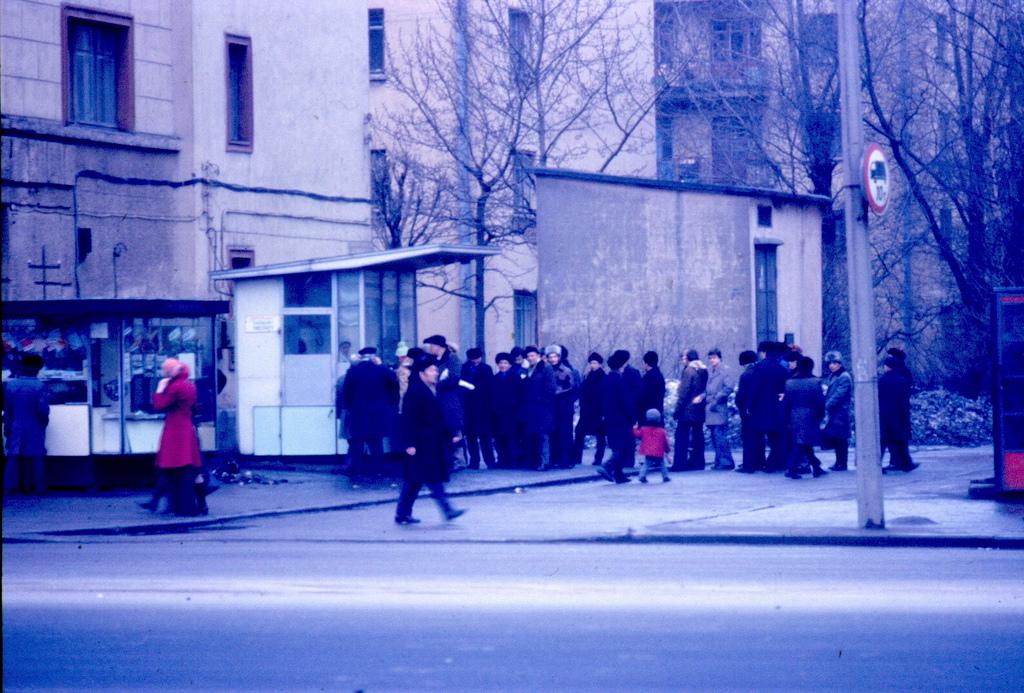 Пивной ларёк в Кировском районе, 1977 год