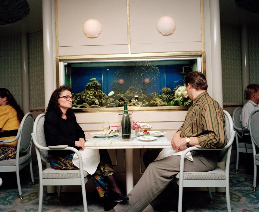Финляндия, на пароме из Хельсинки в Стокгольм. 1991 год