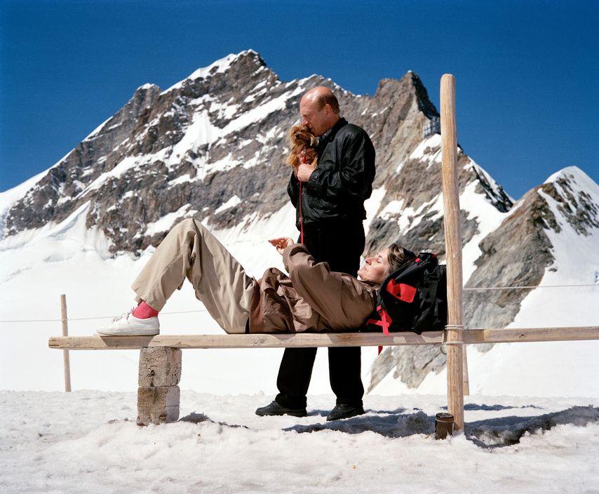 Альпы, Швейцария. 1990 год