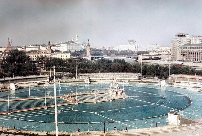 Бассейн «Москва», 1969 год