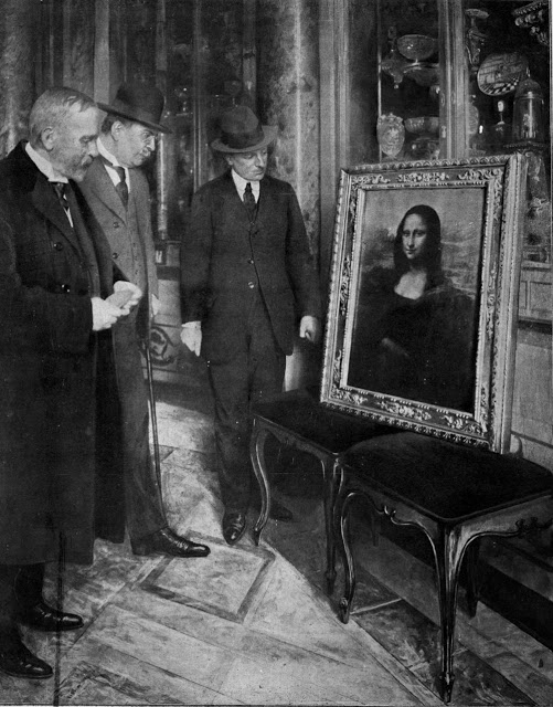 «Мона Лиза» перед выставкой в Италии