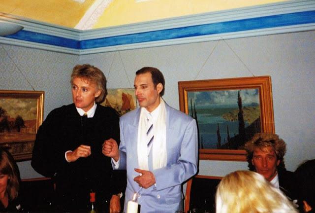 Фотографии с последнего публичного выступления Фредди Меркьюри