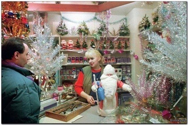 Советский Новый год в ностальгических фотографиях прошлых десятилетий