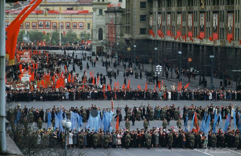 Парад на Манежной площади