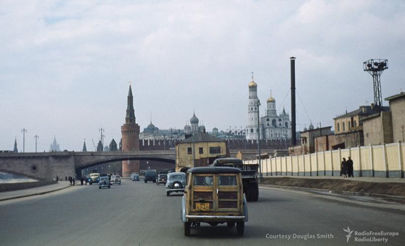 Кремль с Москворецкой набережной