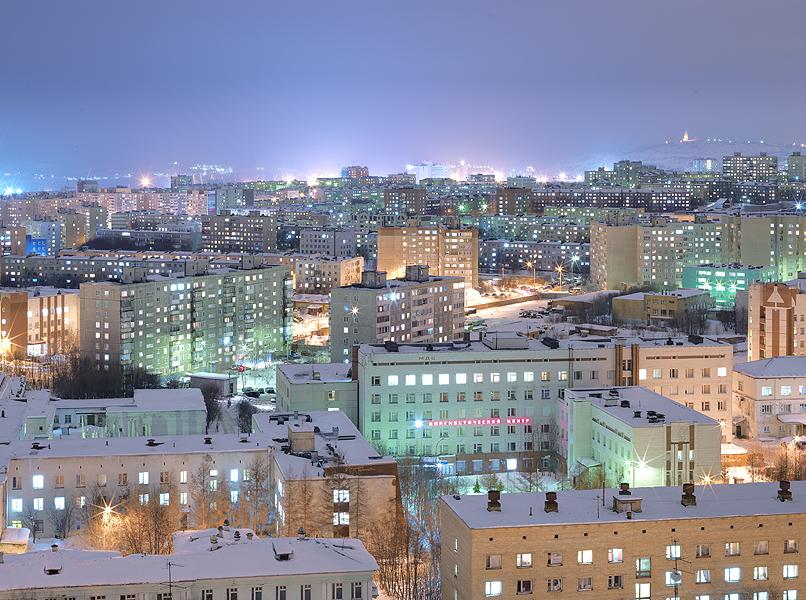 Холодная красота России глазами французского фотографа