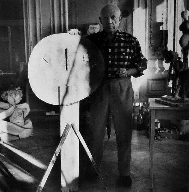 Как создавались шедевры: фотографии мастерской Пабло Пикассо