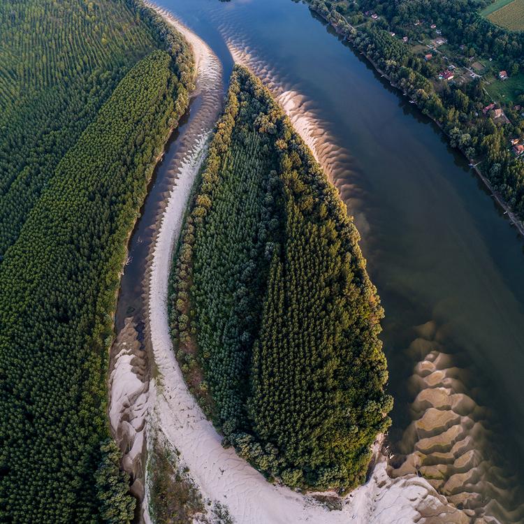 Река Дунай, Сербия