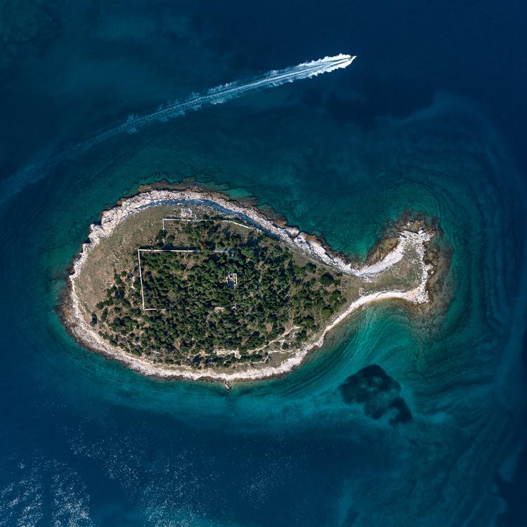 Остров архипелага Бриони, Хорватия