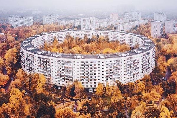 Круглые дома в Москве — уникальный проект советских архитекторов