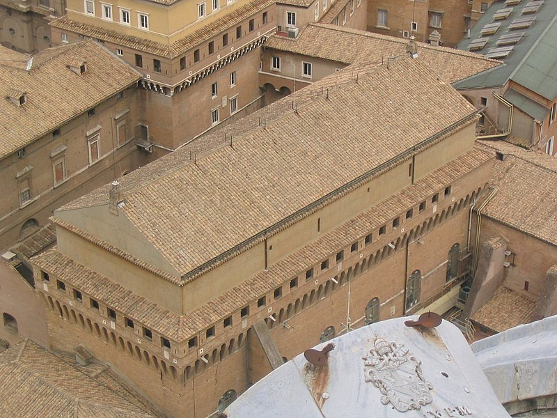 «Сотворение Адама» Микеланджело: потолок Сикстинской капеллы, Ватикан