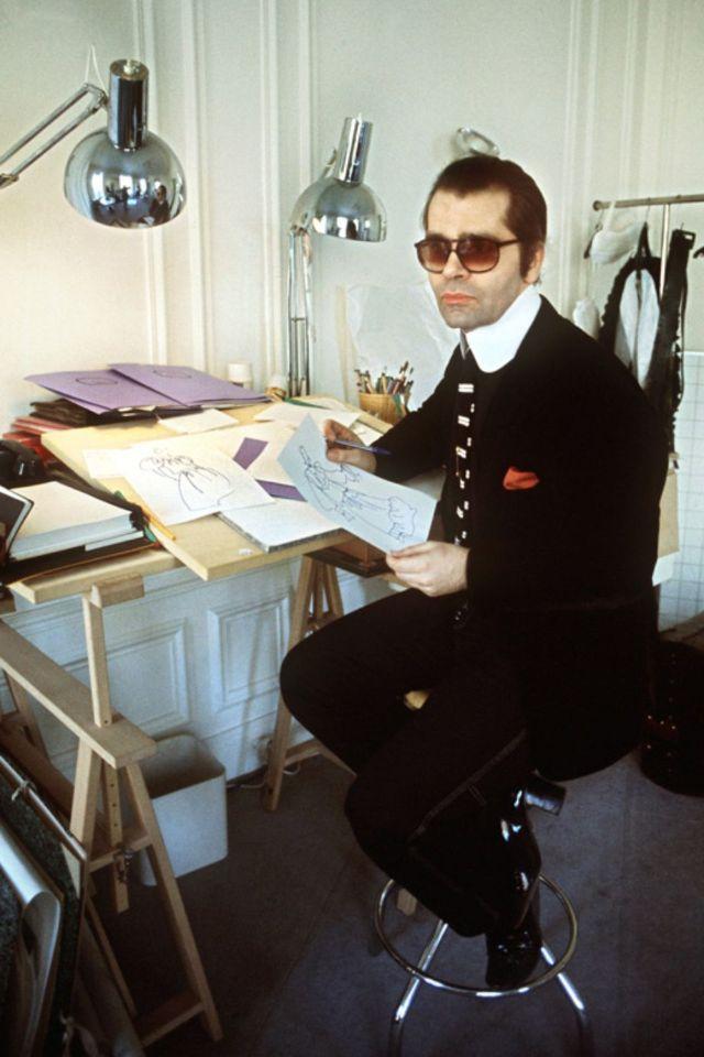 Король моды навеки: фотографии молодого и обаятельного Карла Лагерфельда
