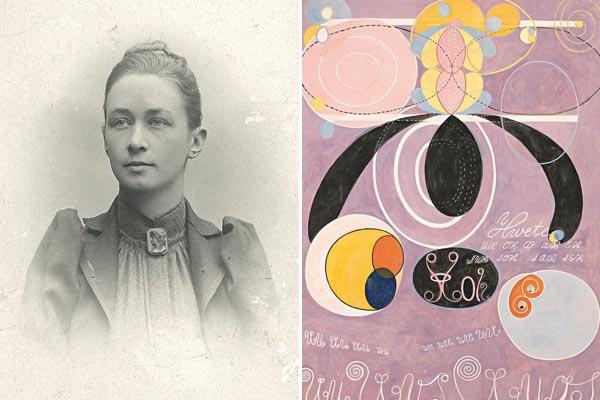 Хильма аф Клинт: художница, которая опередила всех абстракционистов, и даже Кандинского