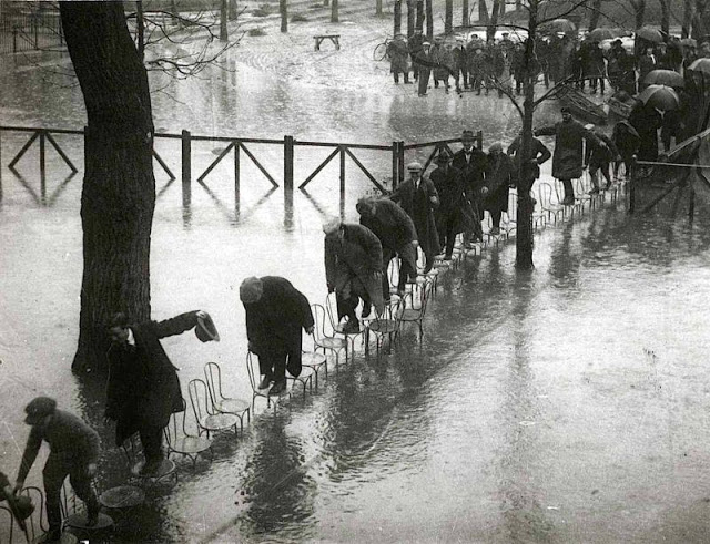 2. Наводнение в Париже, 1910 год