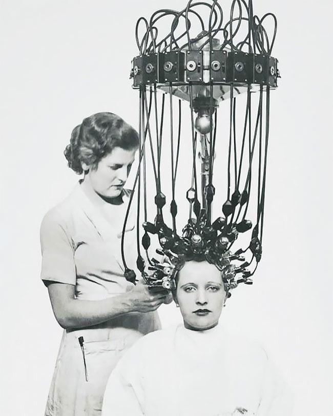 6. Аппарат для химической завивки волос