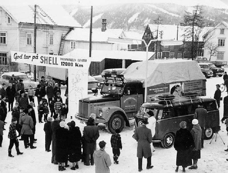 Экспедиция ледяной глыбы или «величайший рекламный трюк в мире», 1959 год