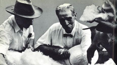 Встреча в Ламбарене с врачом Альбертом Швейцером