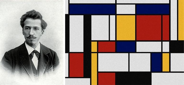 Как Пит Мондриан покорил мир искусства всего тремя цветами