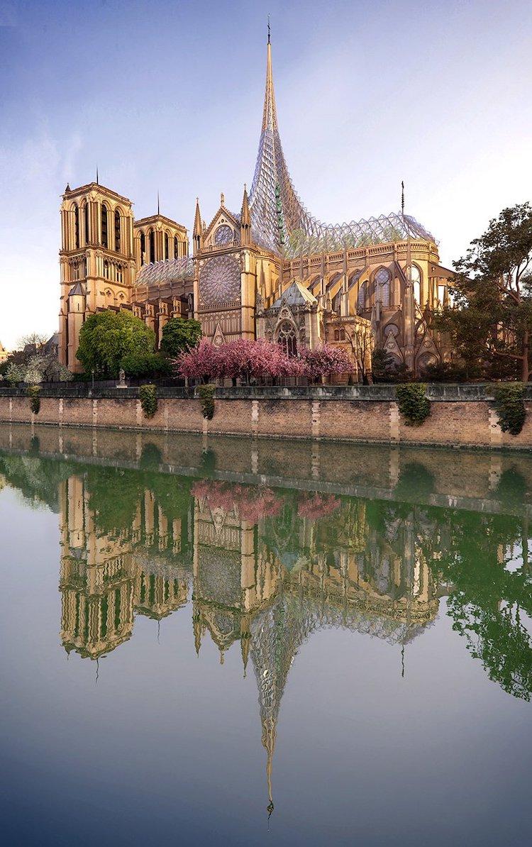 Проект французского архитектурного бюро Vincent Callebaut Architectures