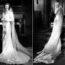 Невесты и их шикарные платья в исторических фотографиях 1930-х годов