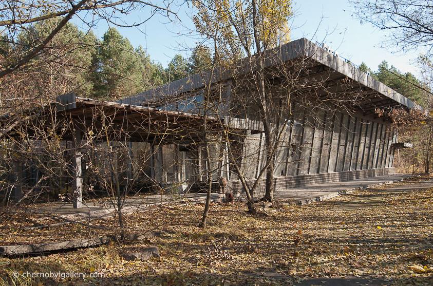 Автовокзал в Припяти