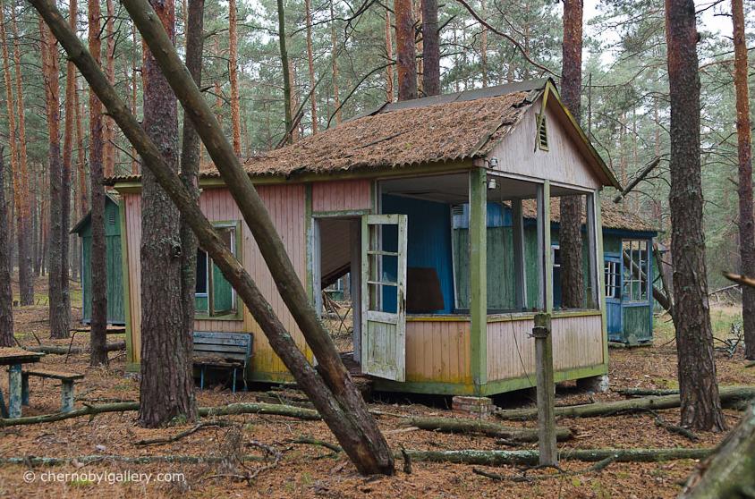 Детский лагерь под Припятью