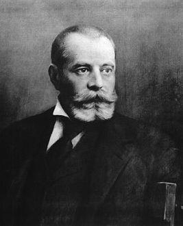 Основатель «Telefon Hírmondó» Тивадар Пушкаш де Дитро