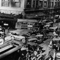 Как выглядели дорожные пробки в прошлом