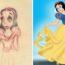 Как выглядели популярные персонажи Диснея на первых набросках