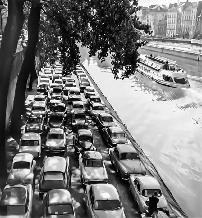 Париж, 1954
