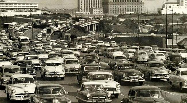 Лос-Анджелес, 1955 год